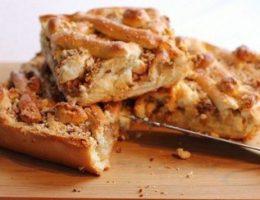 Миниатюра к статье Вкусный пирог с бананом и творогом