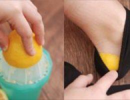 Миниатюра к статье Она засунула лимонную корочку в носок… Когда я узнала, зачем ей это, была в восторге!