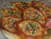 Миниатюра к статье Пирожки-лодочки с сырно-грибной начинкой!