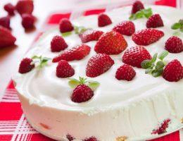 Миниатюра к статье Клубничный пирог