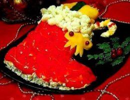 Миниатюра к статье Закусочный торт из вафель «Сапожок»