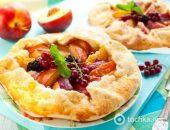 Миниатюра к статье Пирог из персиков и нектаринов
