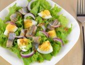 Миниатюра к статье Салат из селедки и яиц