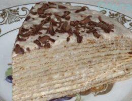 Миниатюра к статье Сладкий блинный пирог