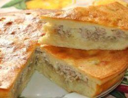 Миниатюра к статье Пирог с мясом «Легче не бывает»