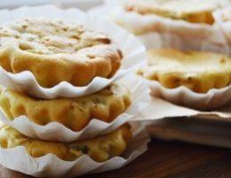 Миниатюра к статье Творожно-банановые кексы с киви