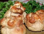 Миниатюра к статье Мешочки с сыром и грибами