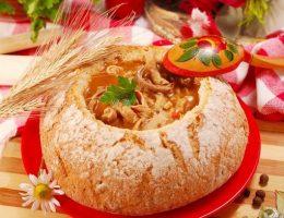 Миниатюра к статье Суп в хлебе