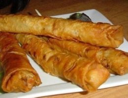 Миниатюра к статье Горячая закуска из лаваша