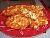 Миниатюра к статье Куриные оладьи с сыром на кефире