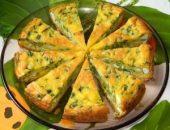 Миниатюра к статье Пирог с яйцами и зеленым луком в мультиварке