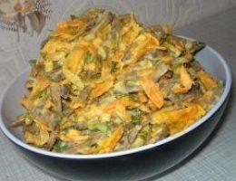 Миниатюра к статье Печеночный салат