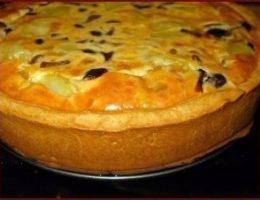 Миниатюра к статье Пирог с картошкой и грибами