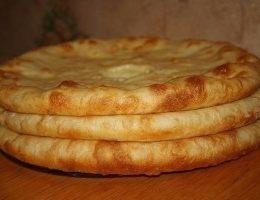 Миниатюра к статье Осетинские пироги с мясом, с картошкой и сулугуни