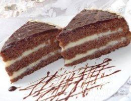 Миниатюра к статье Сумасшедший торт-пирог «Crazy cake»