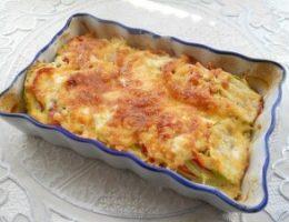 Миниатюра к статье Кабачки, запеченные с помидорами и сыром