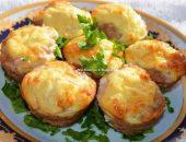 Миниатюра к статье Мясные кексики с сырно-яичной начинкой