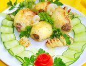 Миниатюра к статье Фаршированный картофель