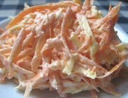 Миниатюра к статье Морковный салат с яйцом