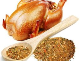 Приправы для курицы
